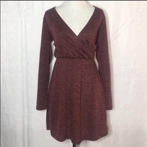 Buttery soft long sleeve dress